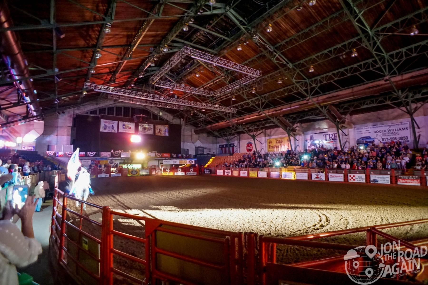 Inside the Cowtown Coliseum