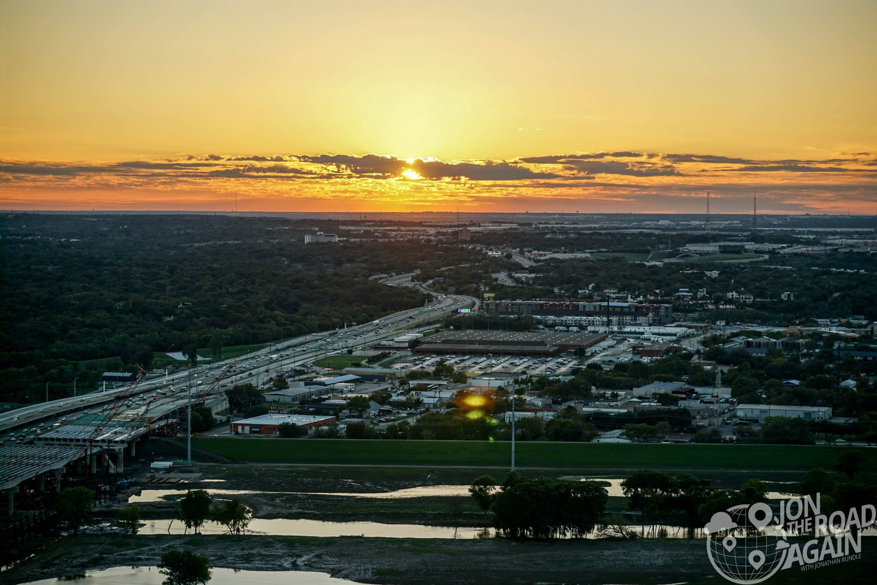 Sunset from Reunion Tower