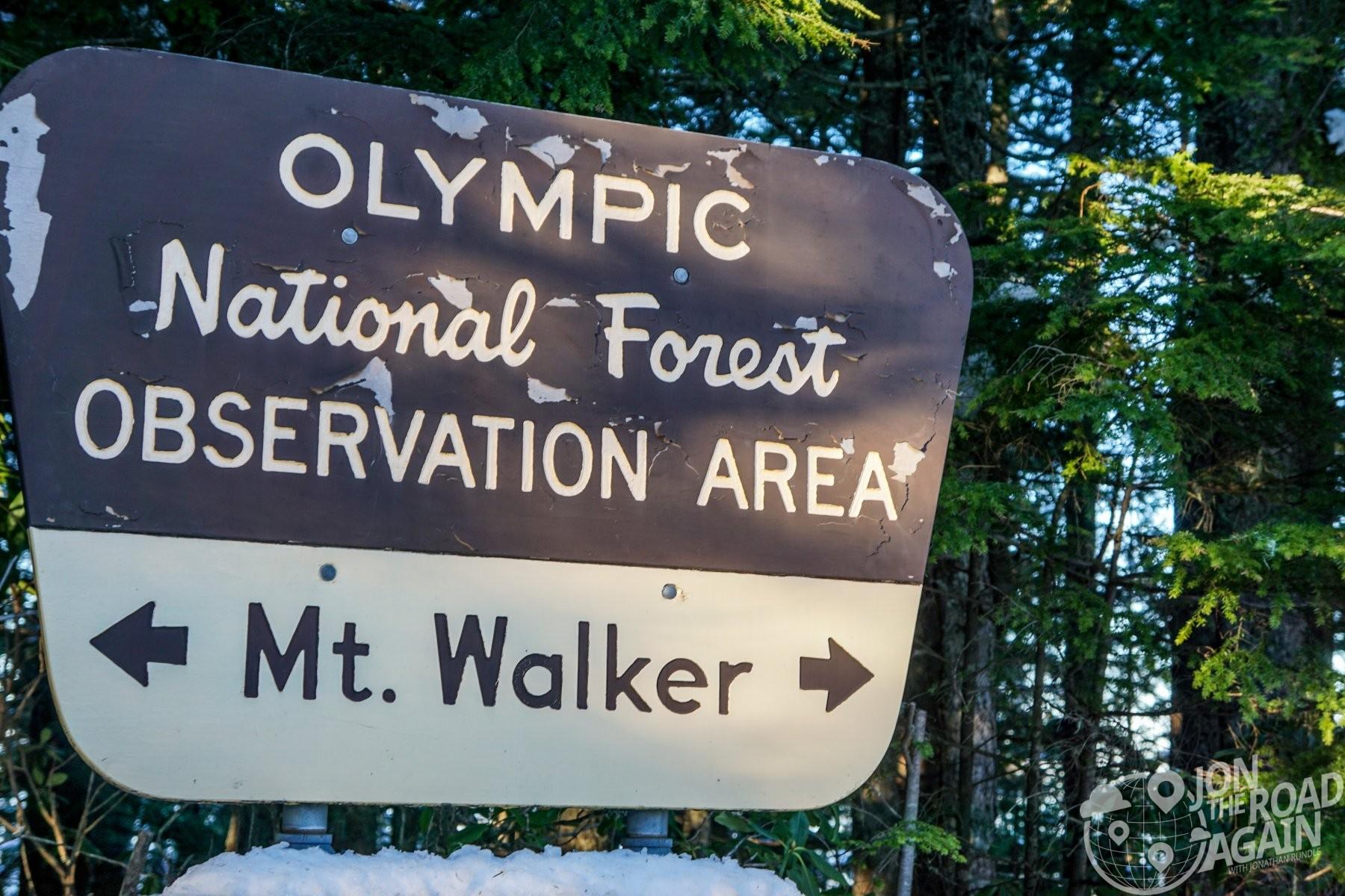Mount Walker in January