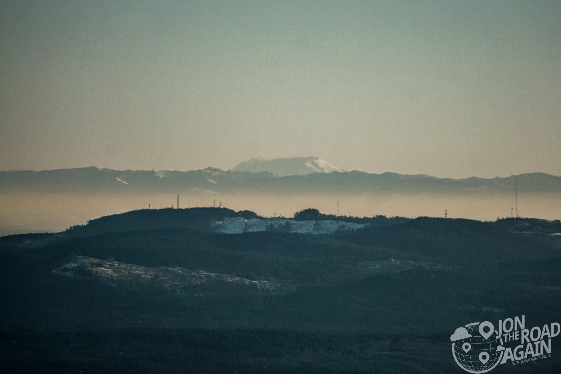 Mount St. Helens from Mount Walker