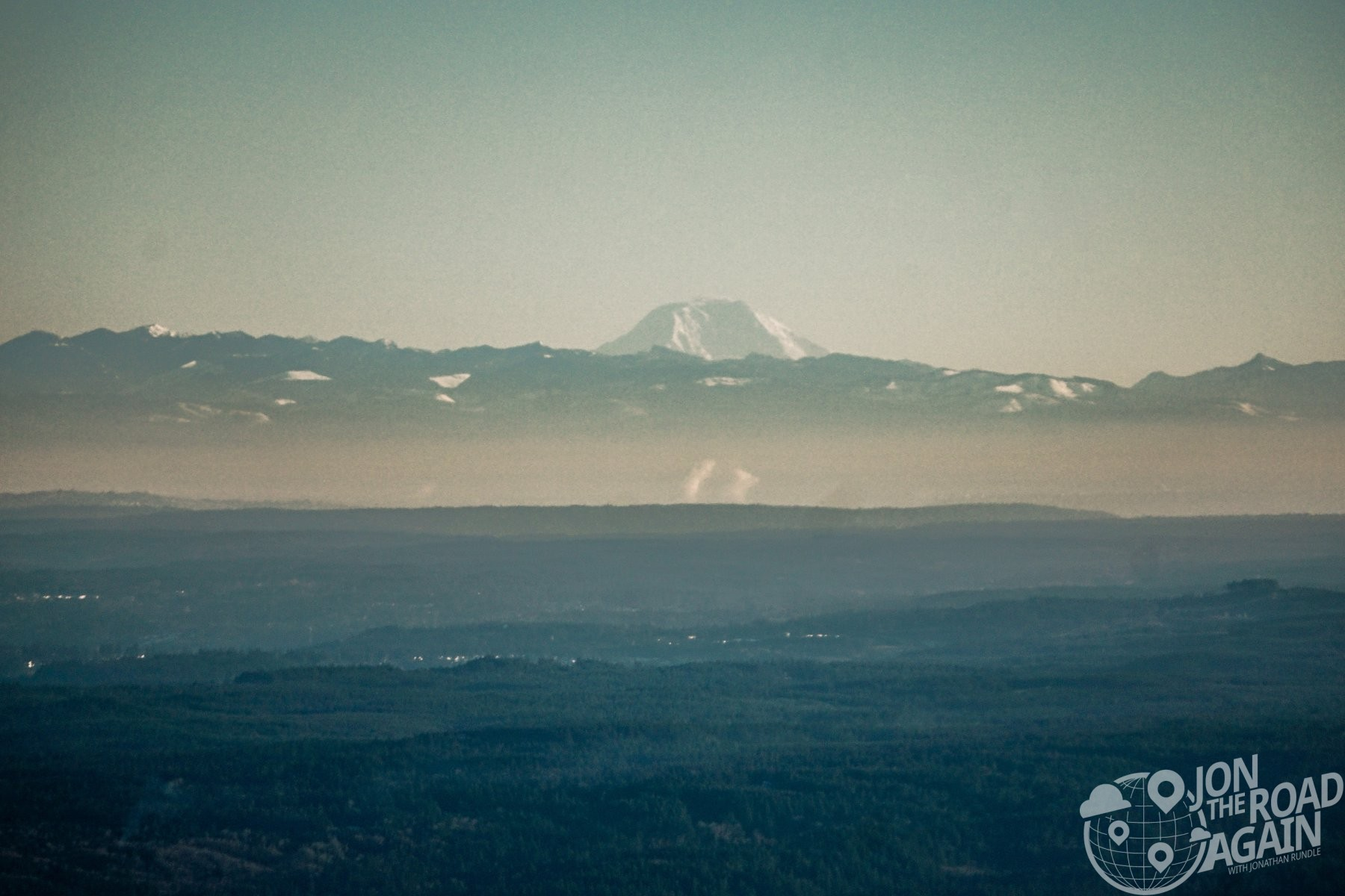 Mount Adams from Mount Walker