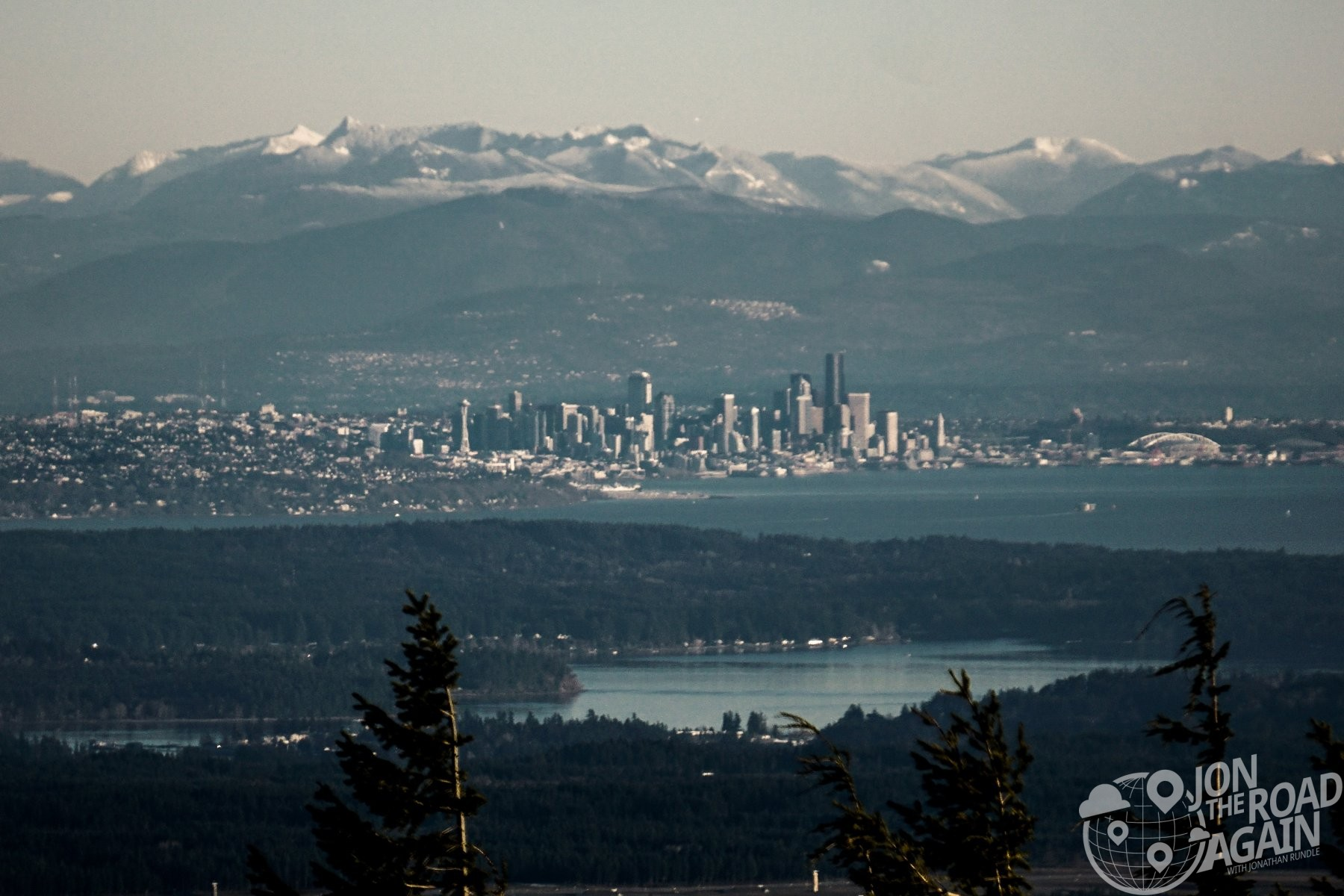 Seattle from Mount Walker