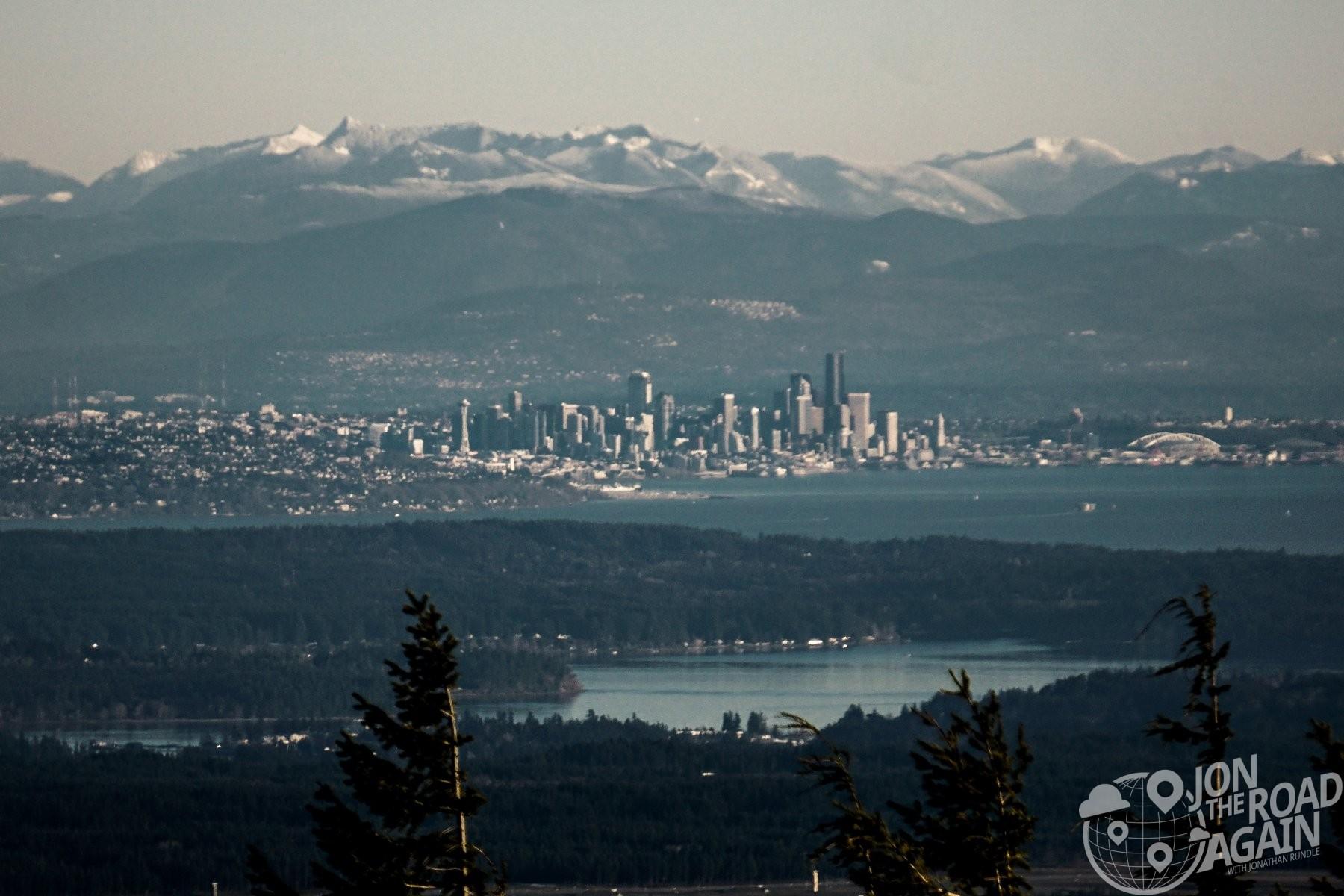 Seattle from Mount Walker