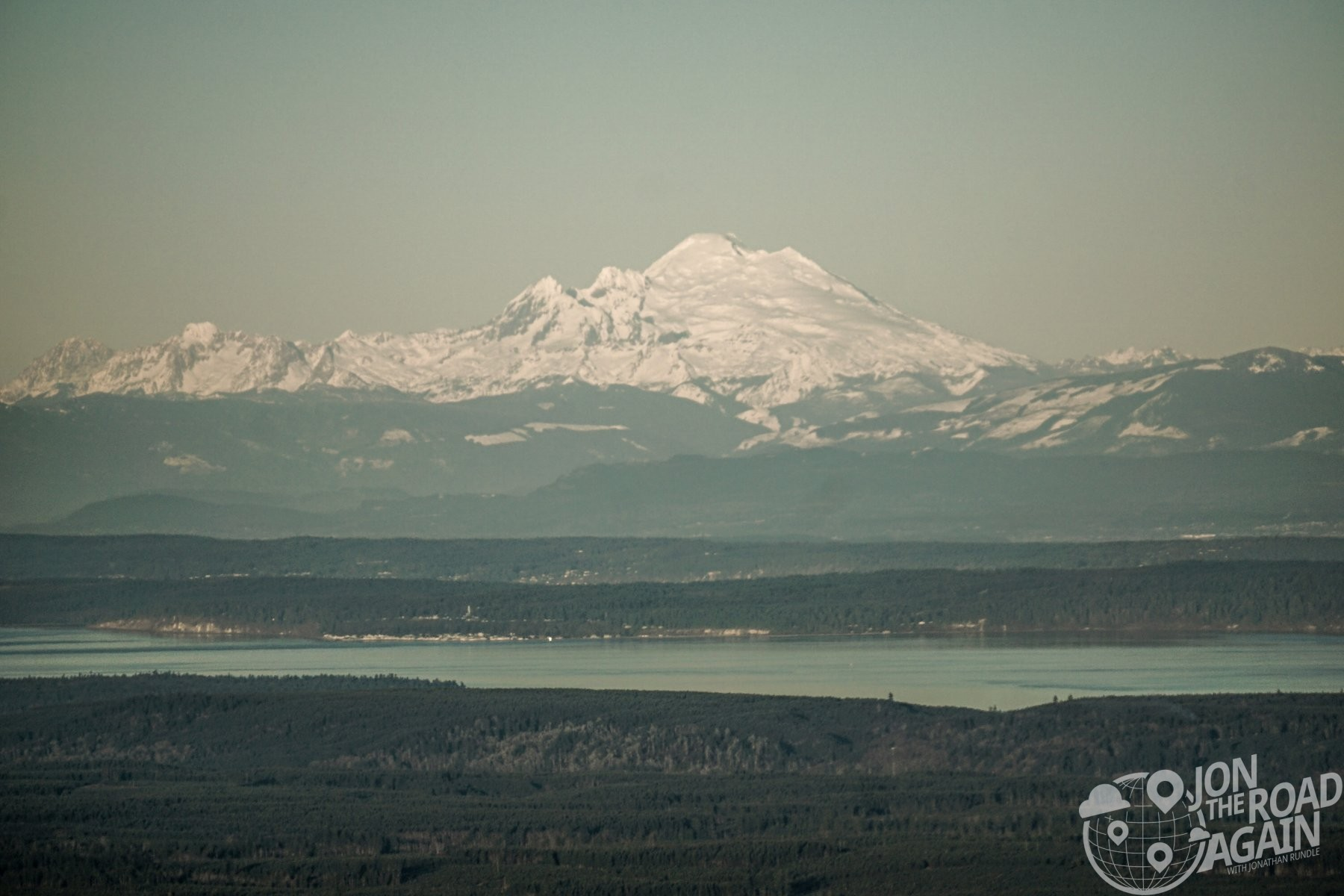 Mount Baker from Mount Walker