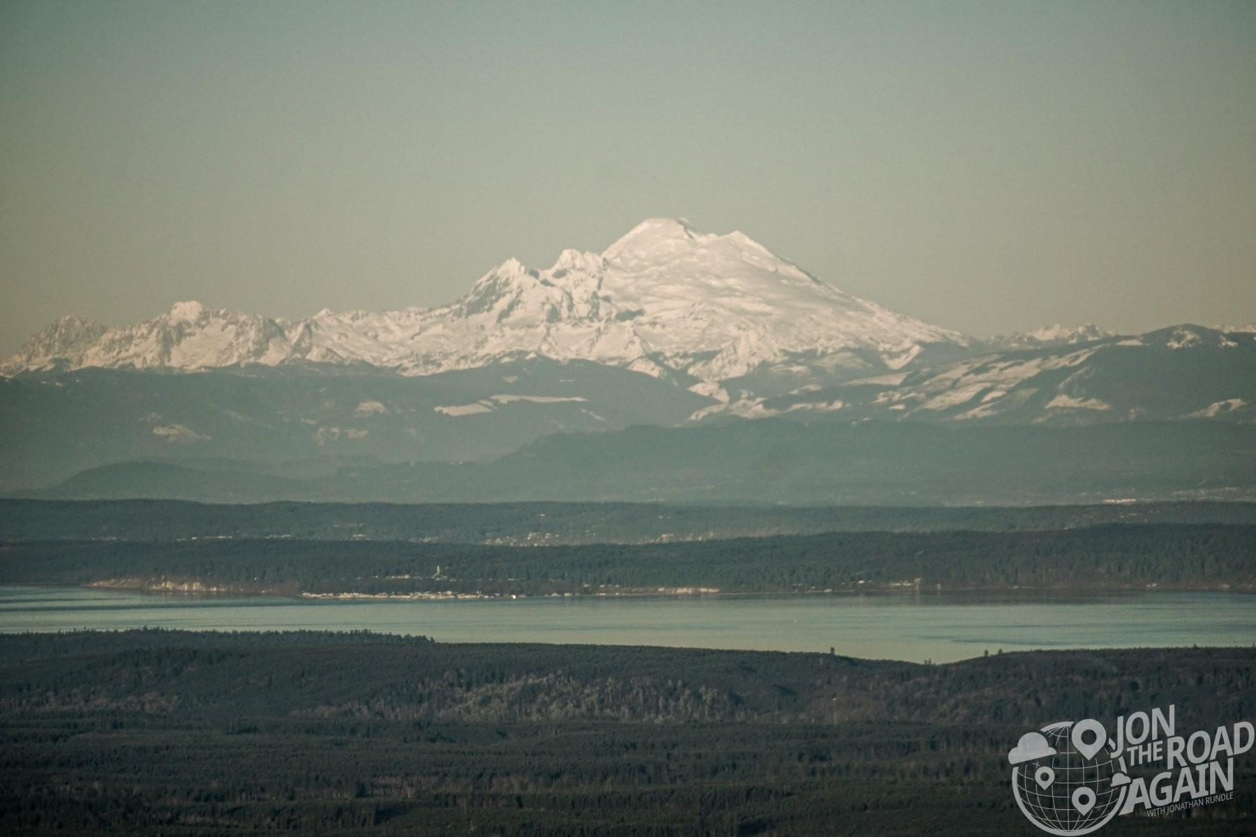 Mount Baker from Mount Walker