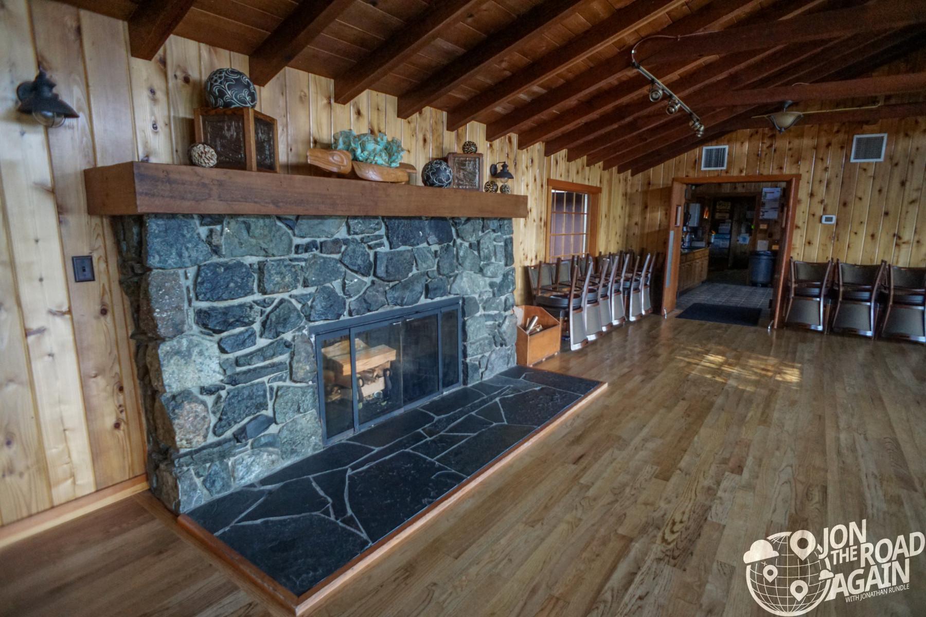 Kiana Lodge Fireplace