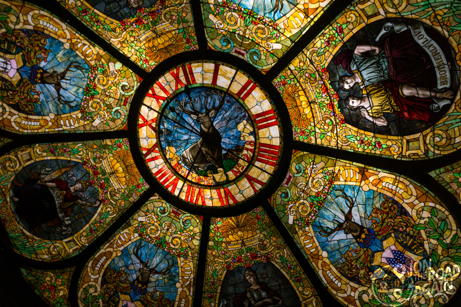 San Diego Hard Rock Stained Glass