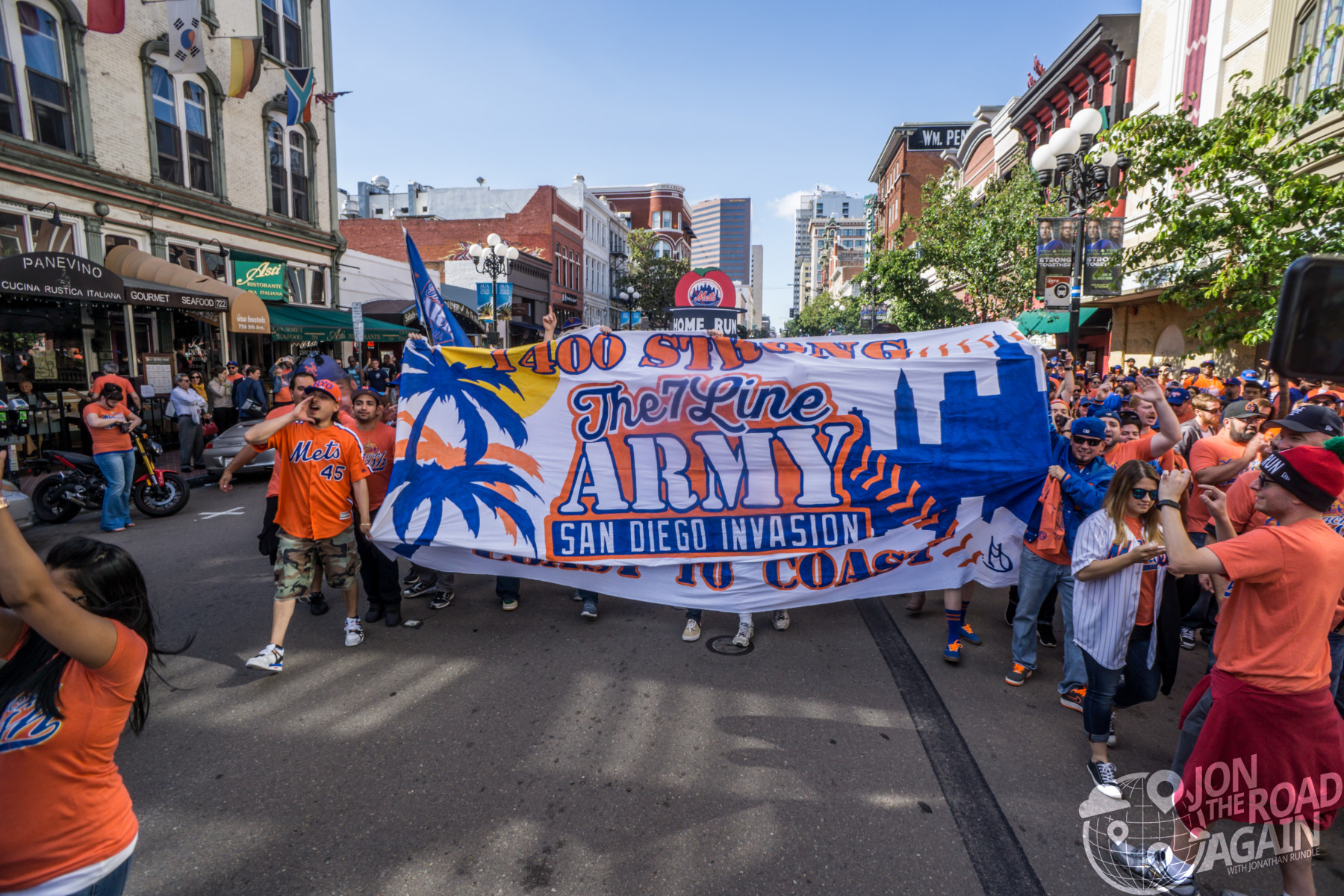 de00a81b Every game's a party with the 7 Line Army - Jon the Road Again - Travel  with Jonathan Rundle