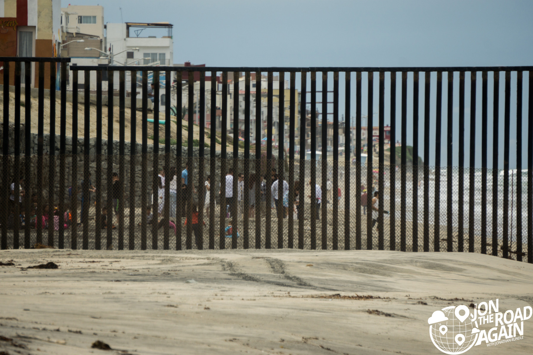 Mexican Border at San Diego