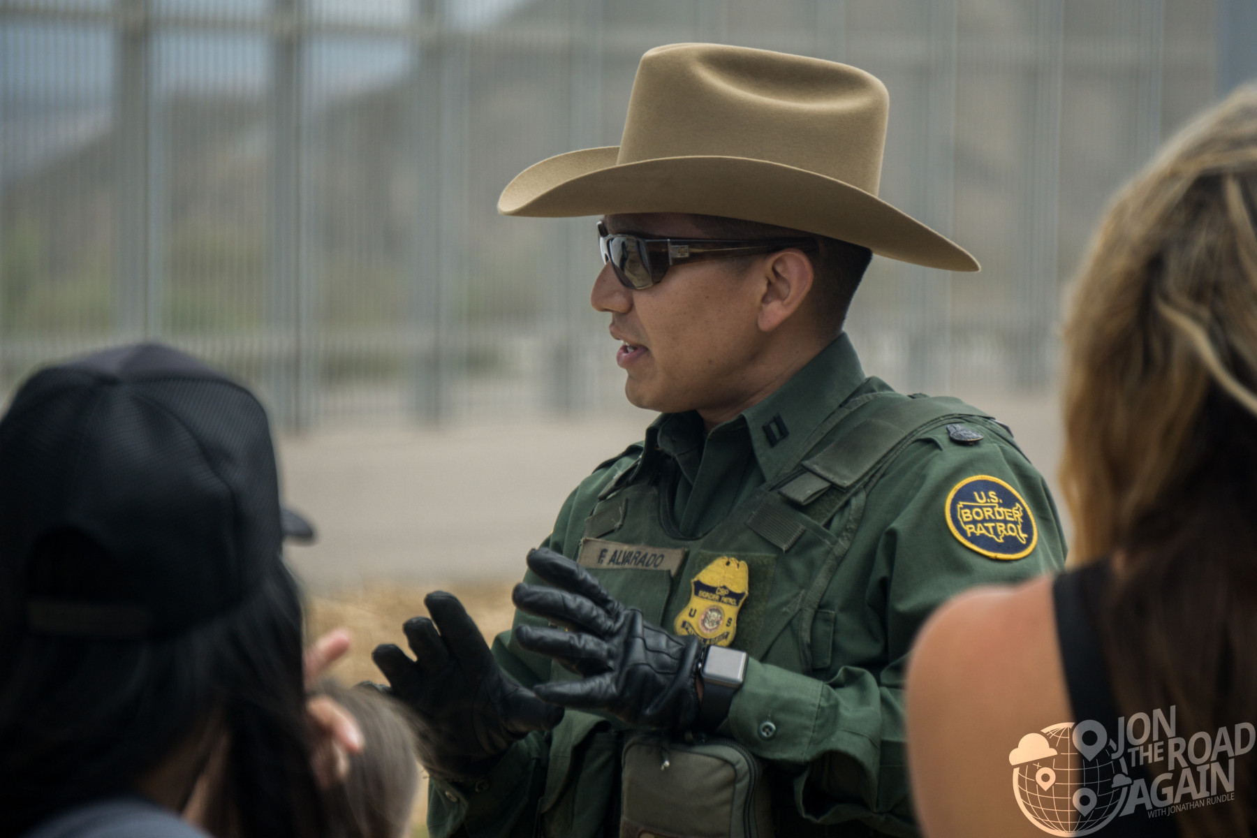 Border patrol officer