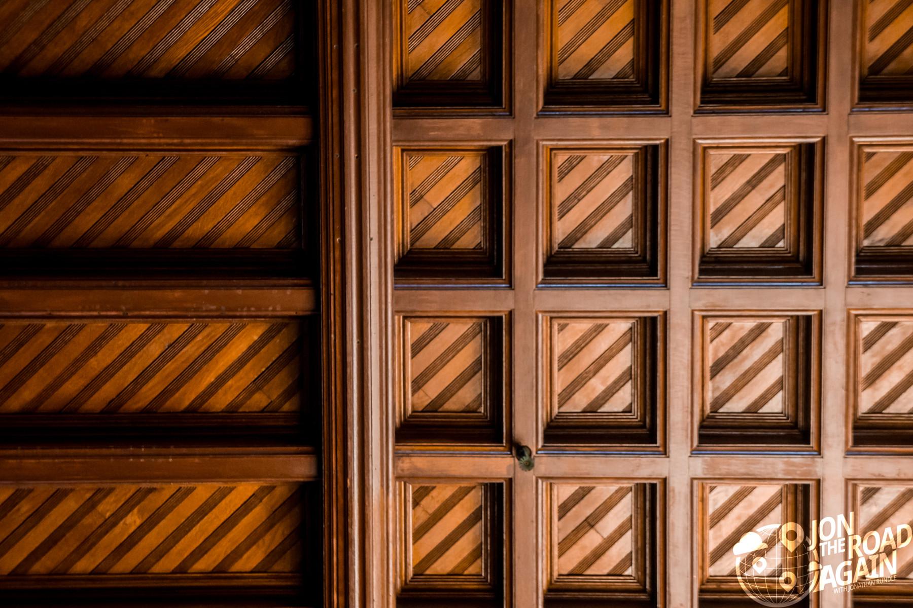 Hotel del Coronado Wood ceiling