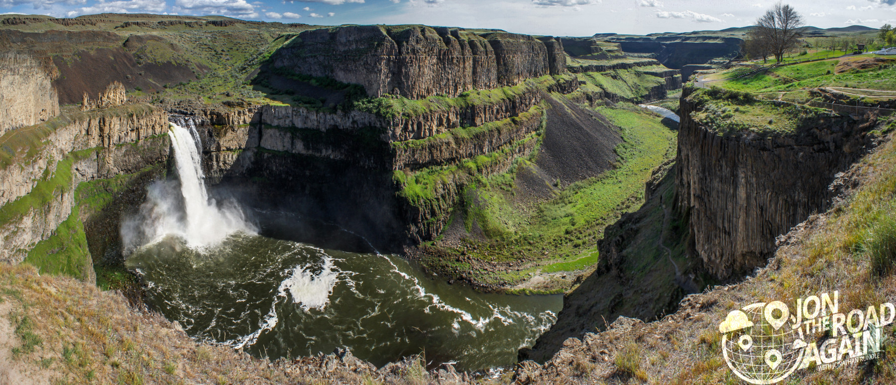 Palouse Falls With My Pals Jon The Road Again Travel