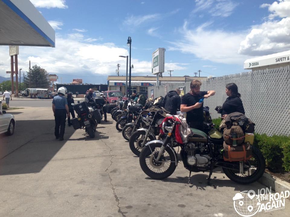 The gang in Salt Lake