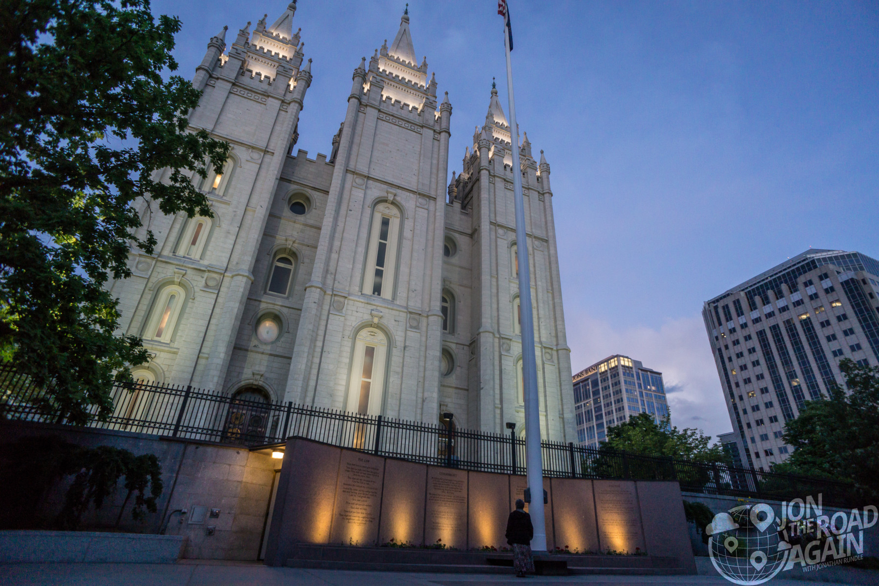 Temple Square in Salt Lake City, UT