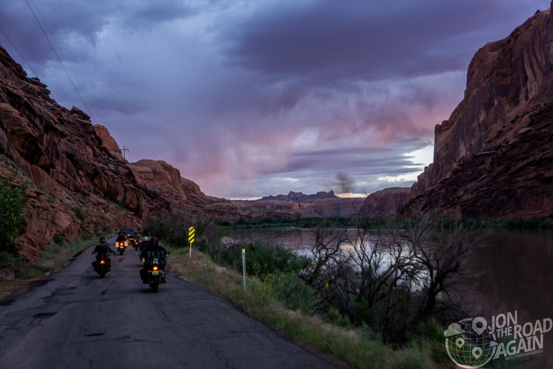 Road to Motos in Moab