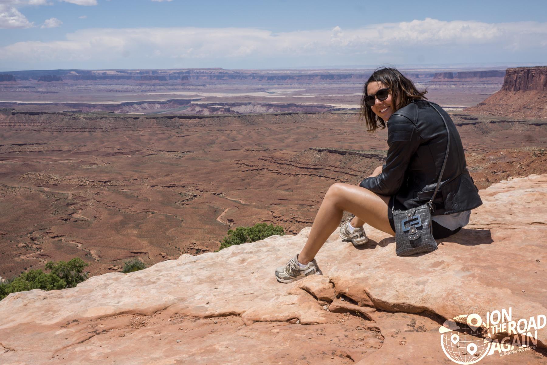 Orange Cliffs Overlook