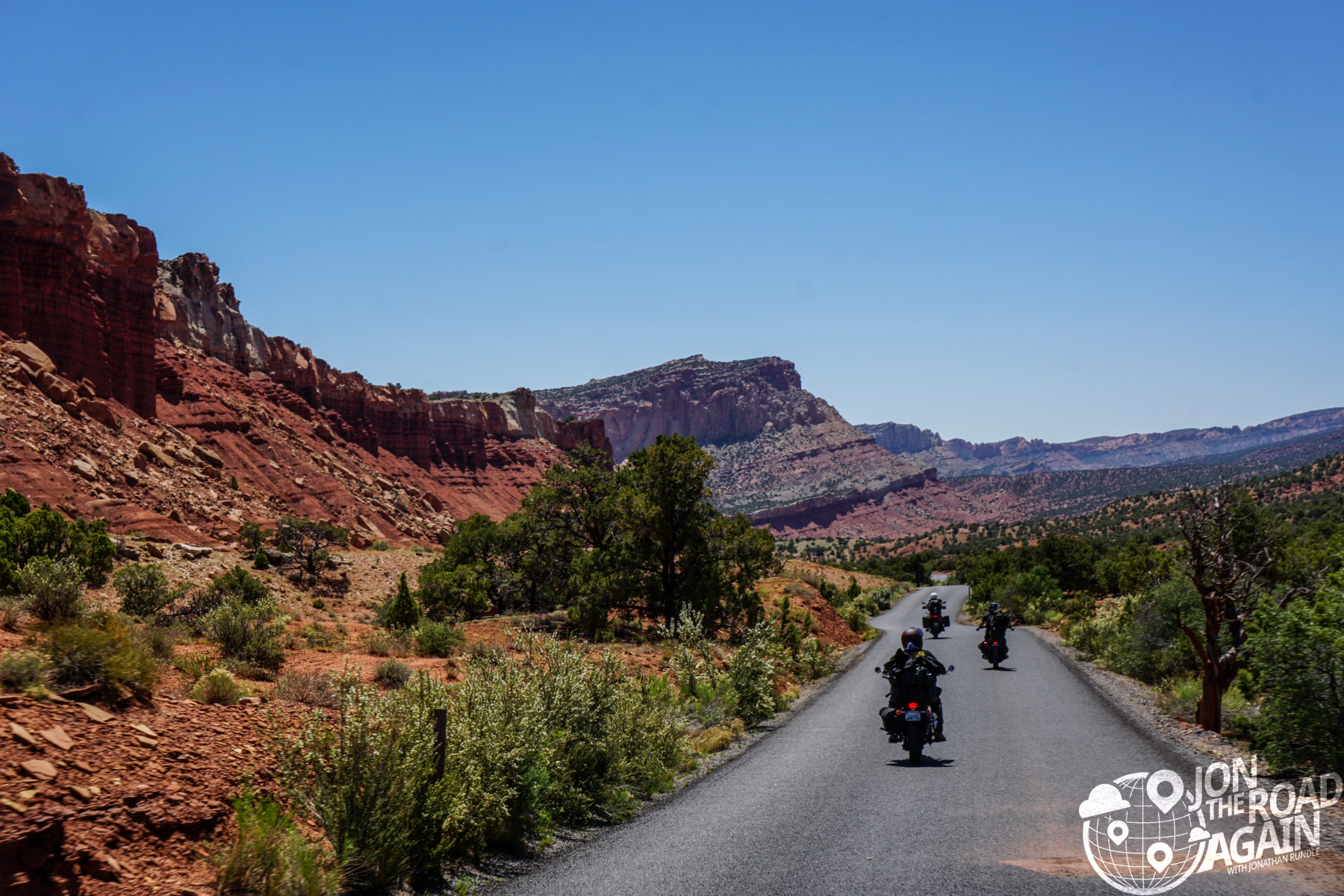 Riding in Capitol Reef National Park