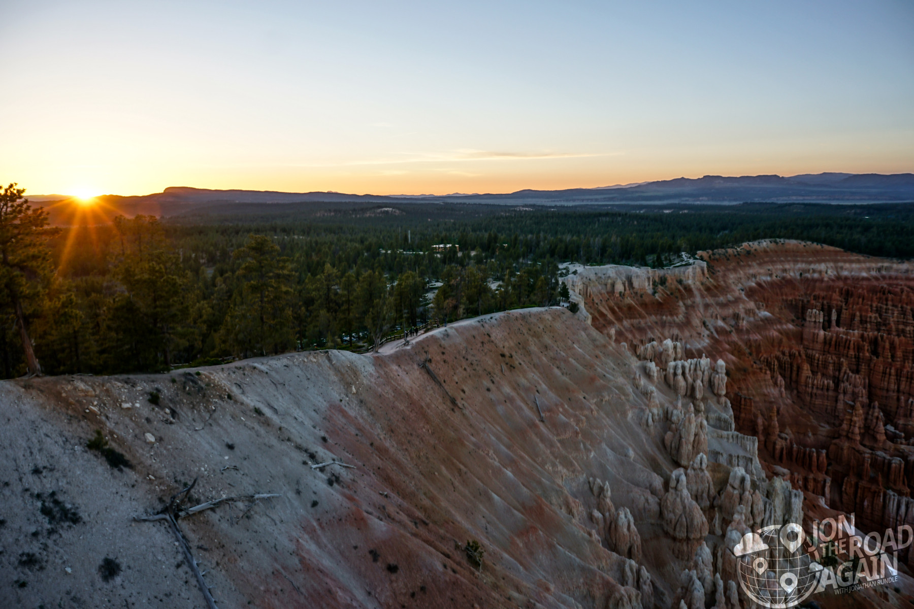 Sunset at Bryce Canyon Amphitheatre