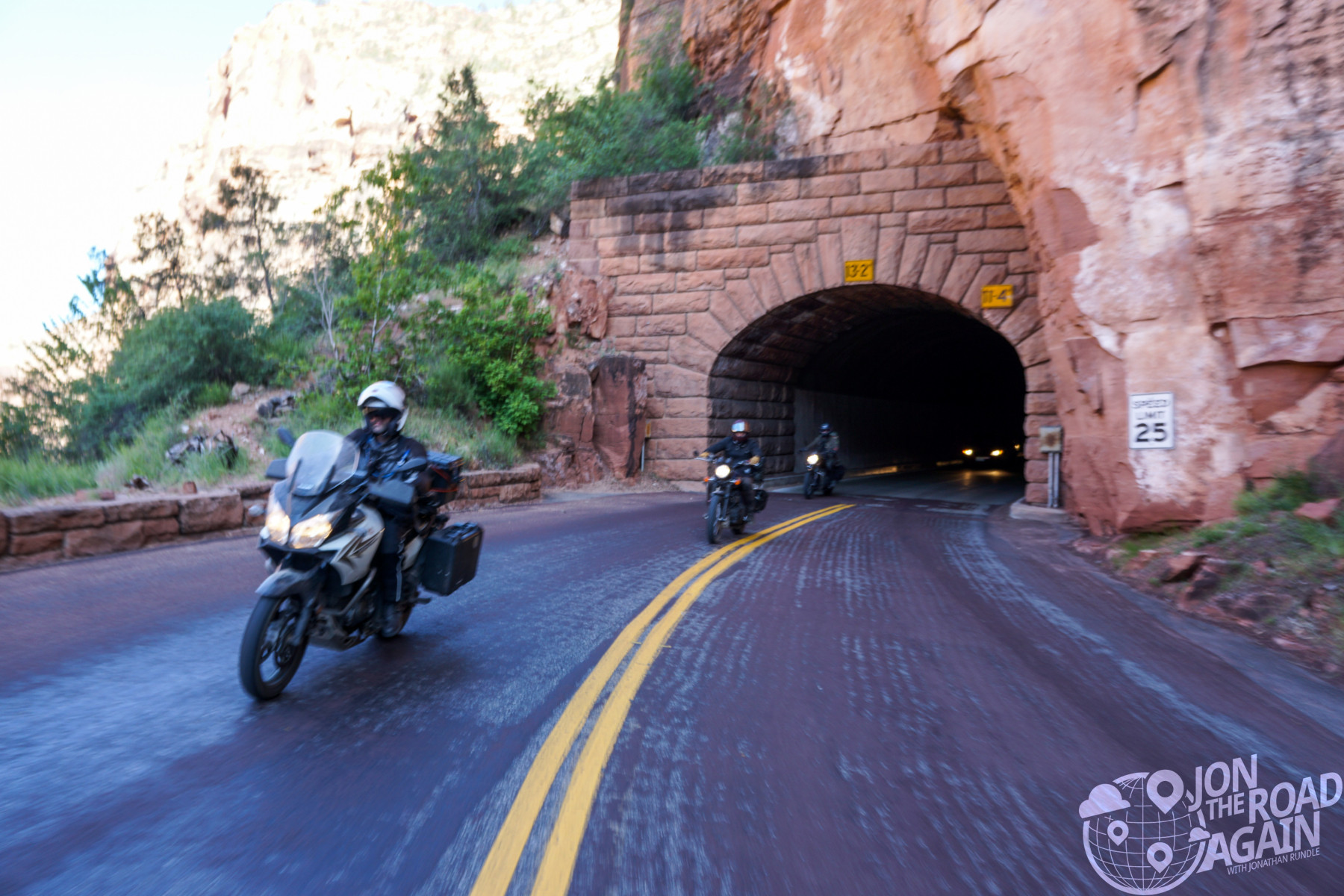 Zion National Park Tunnel
