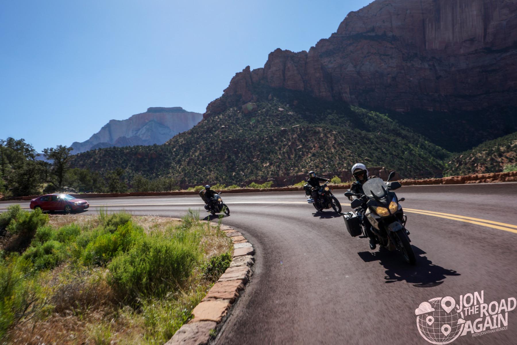Riding Zion National Park