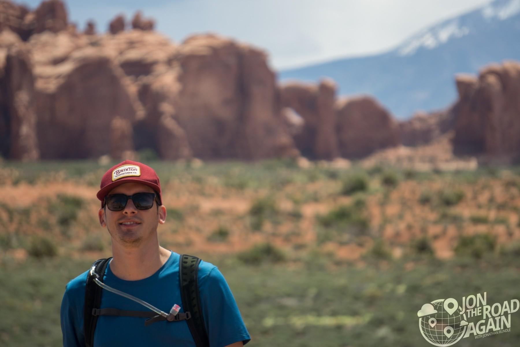 Jonathan at Arches National Park