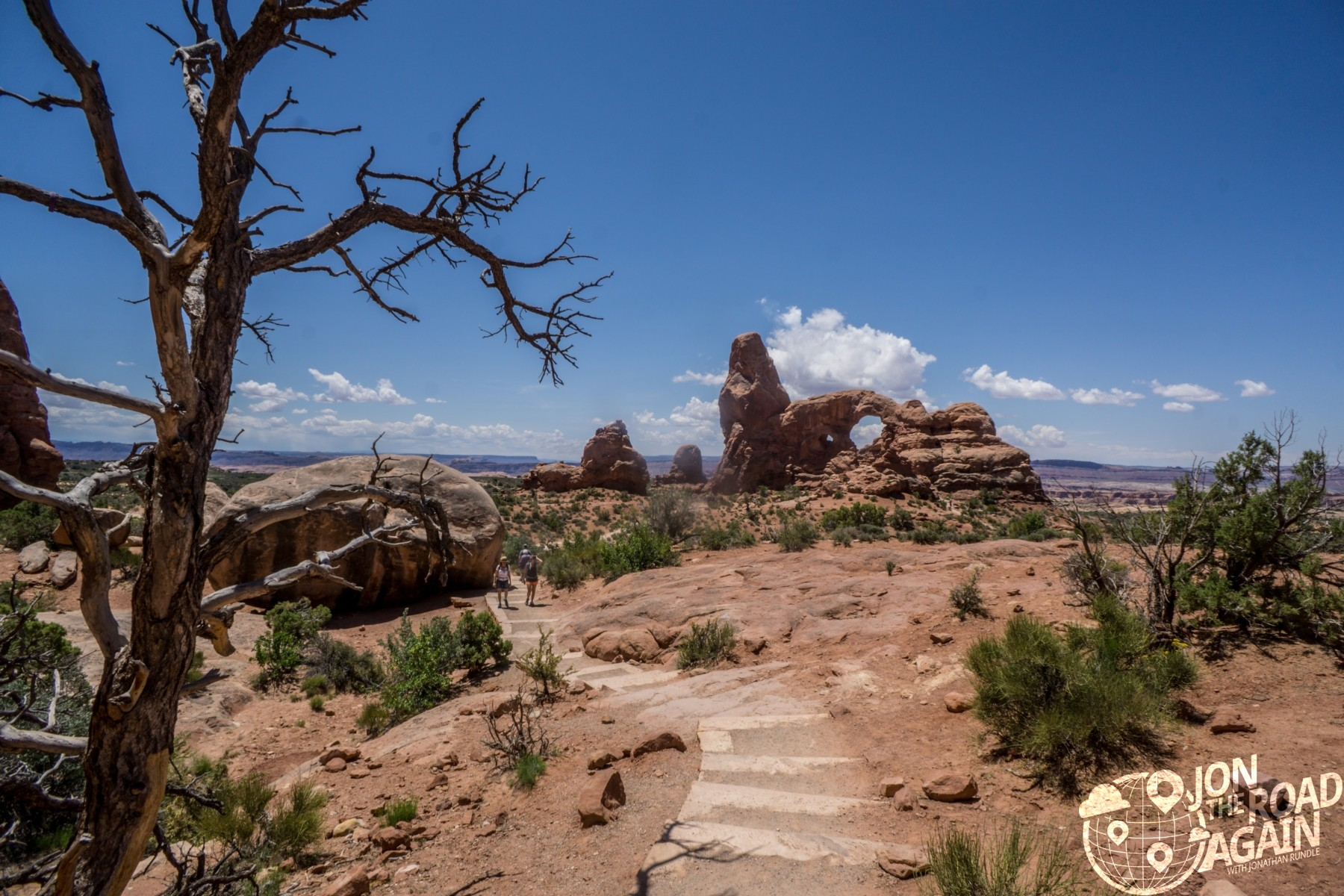turret arch walkway