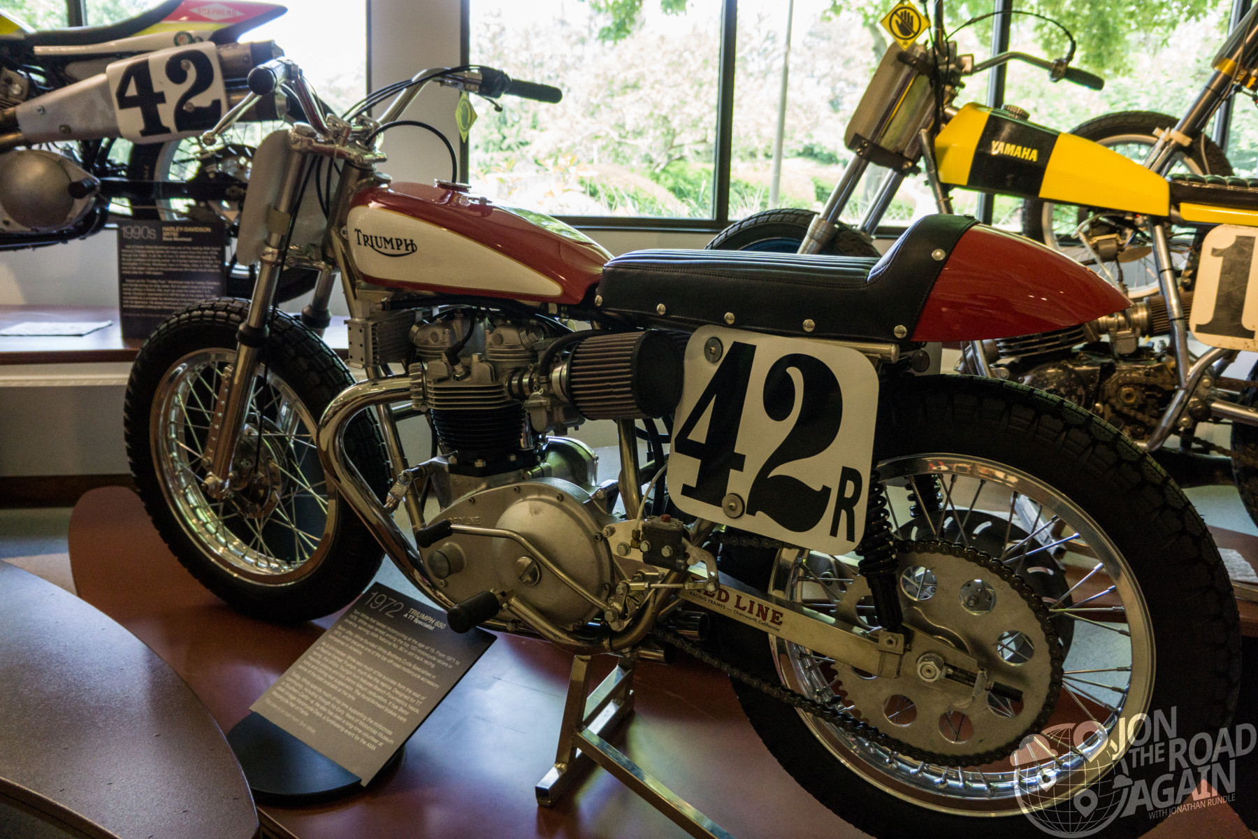 Triumph flat tracker AMA Museum
