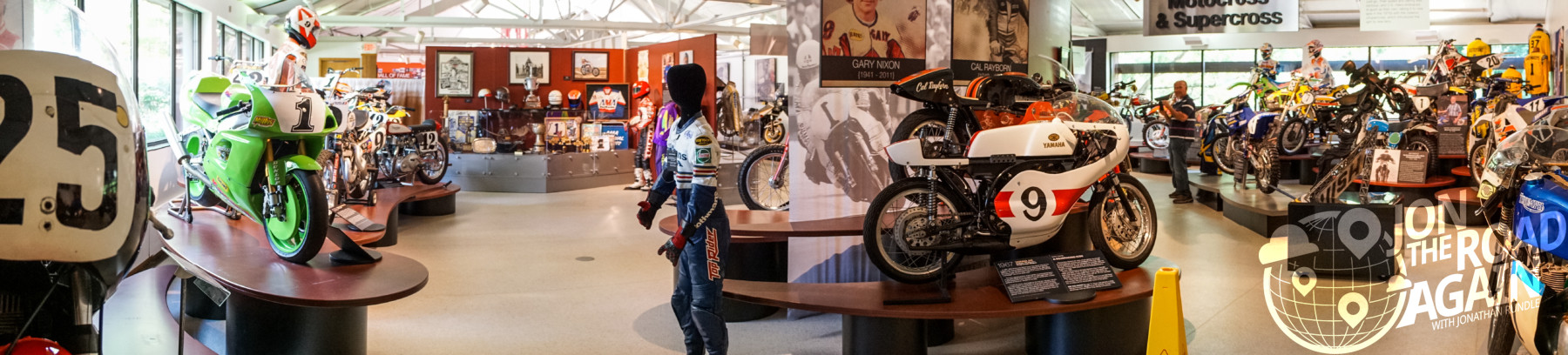 AMA Motorcycle Hall of Fame Panorama