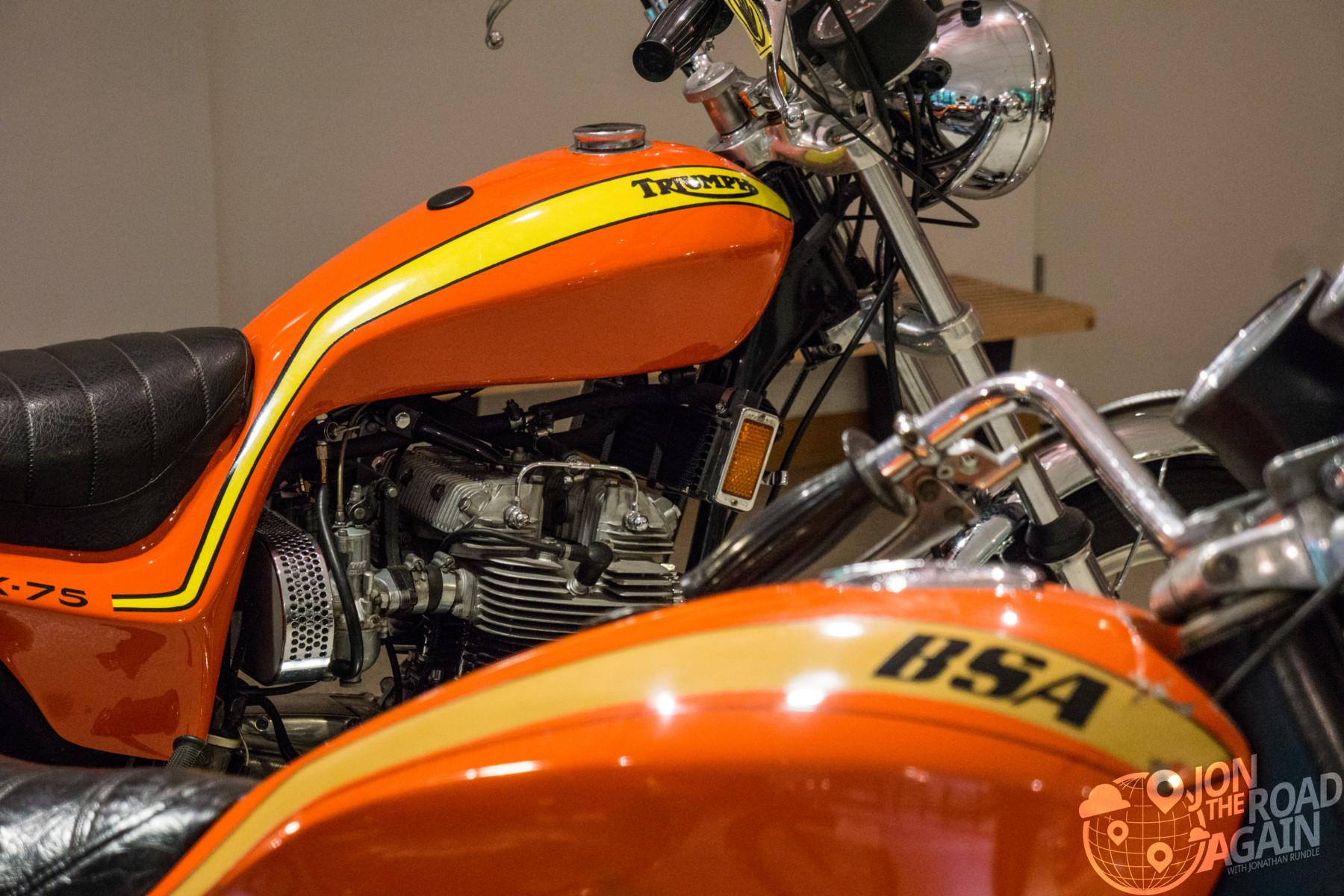 Triumph BSA Hurricane
