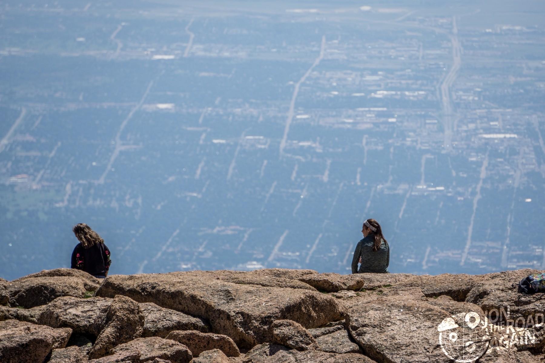 Pikes Peak views