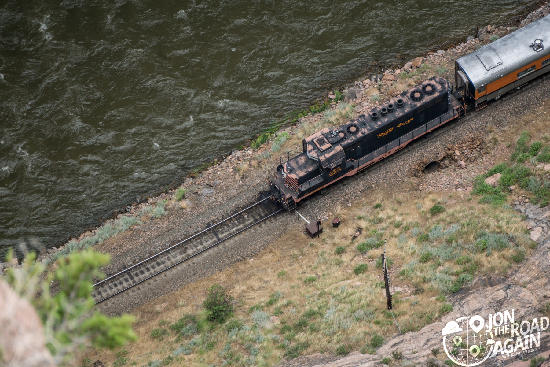 Royal Gorge Bridge Train