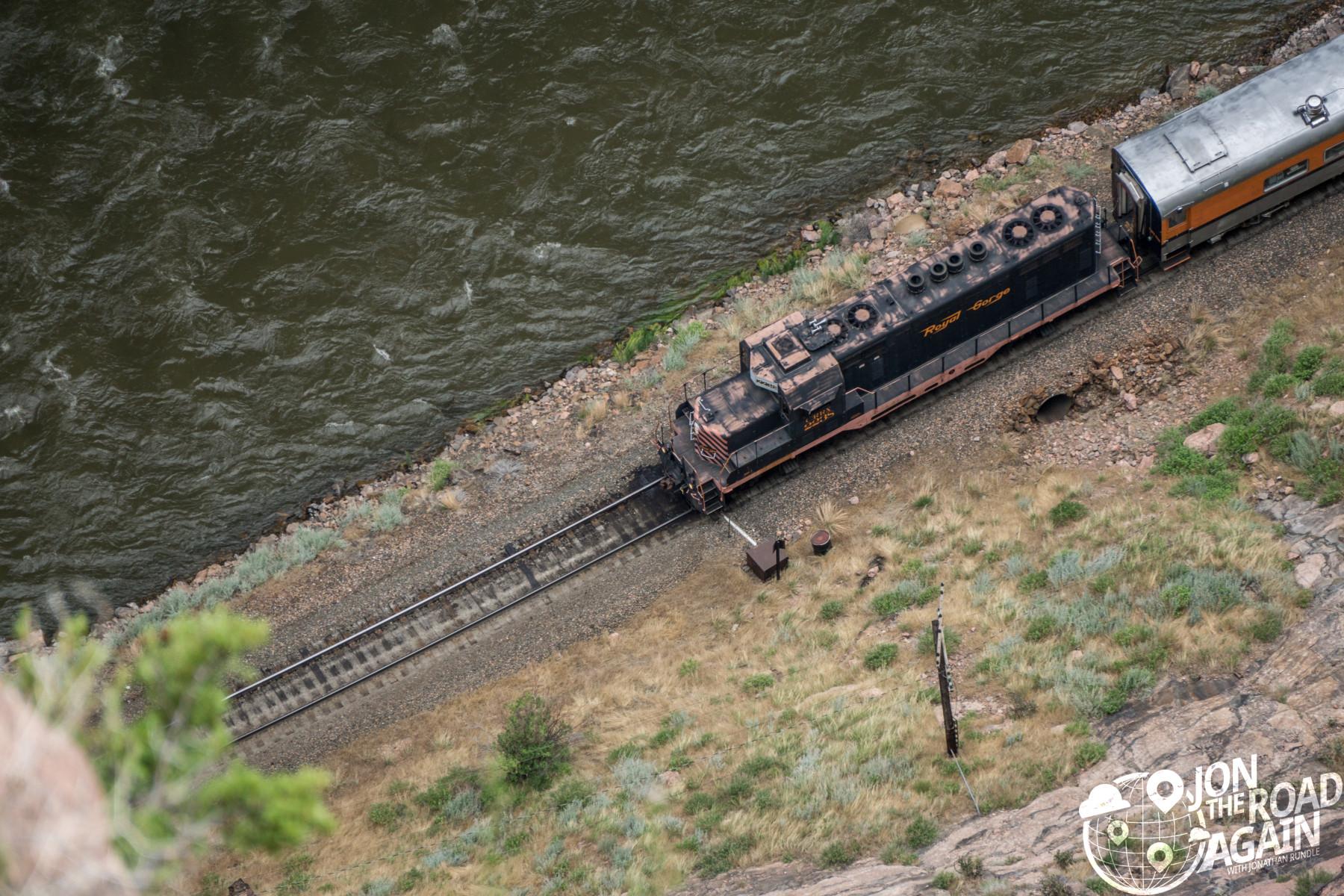 Royal Gorge Bridge Train
