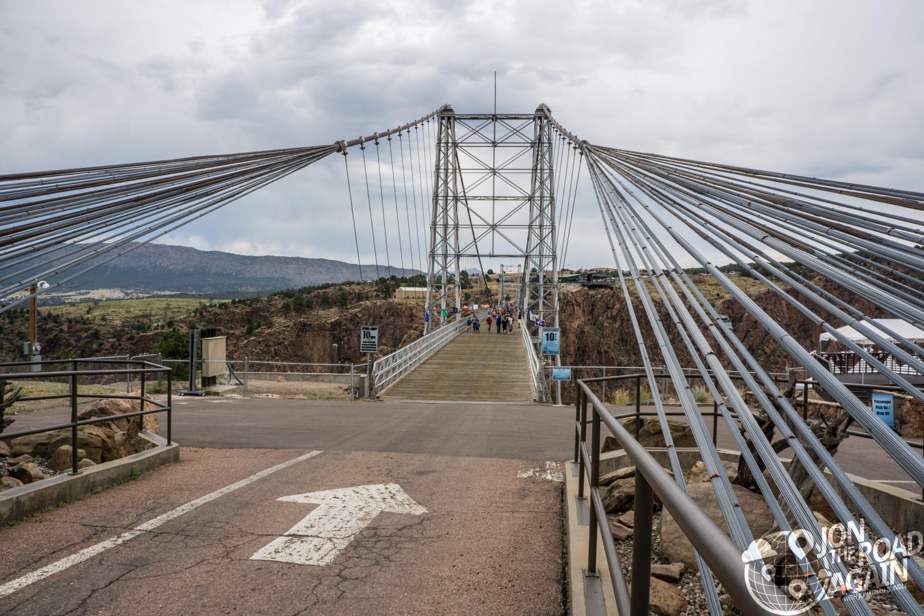 Royal Gorge Bridge Suspension Cables