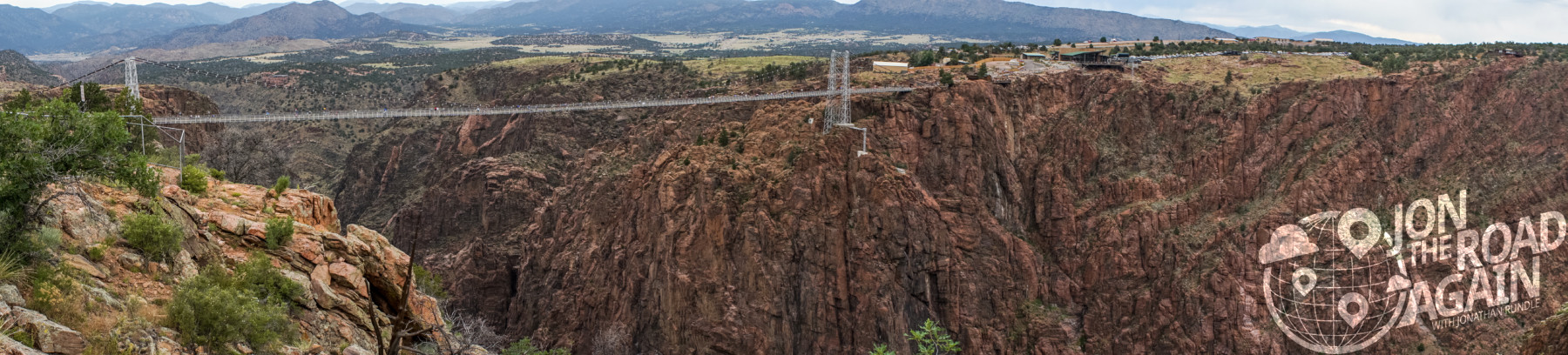 Royal Gorge Bridge Panorama