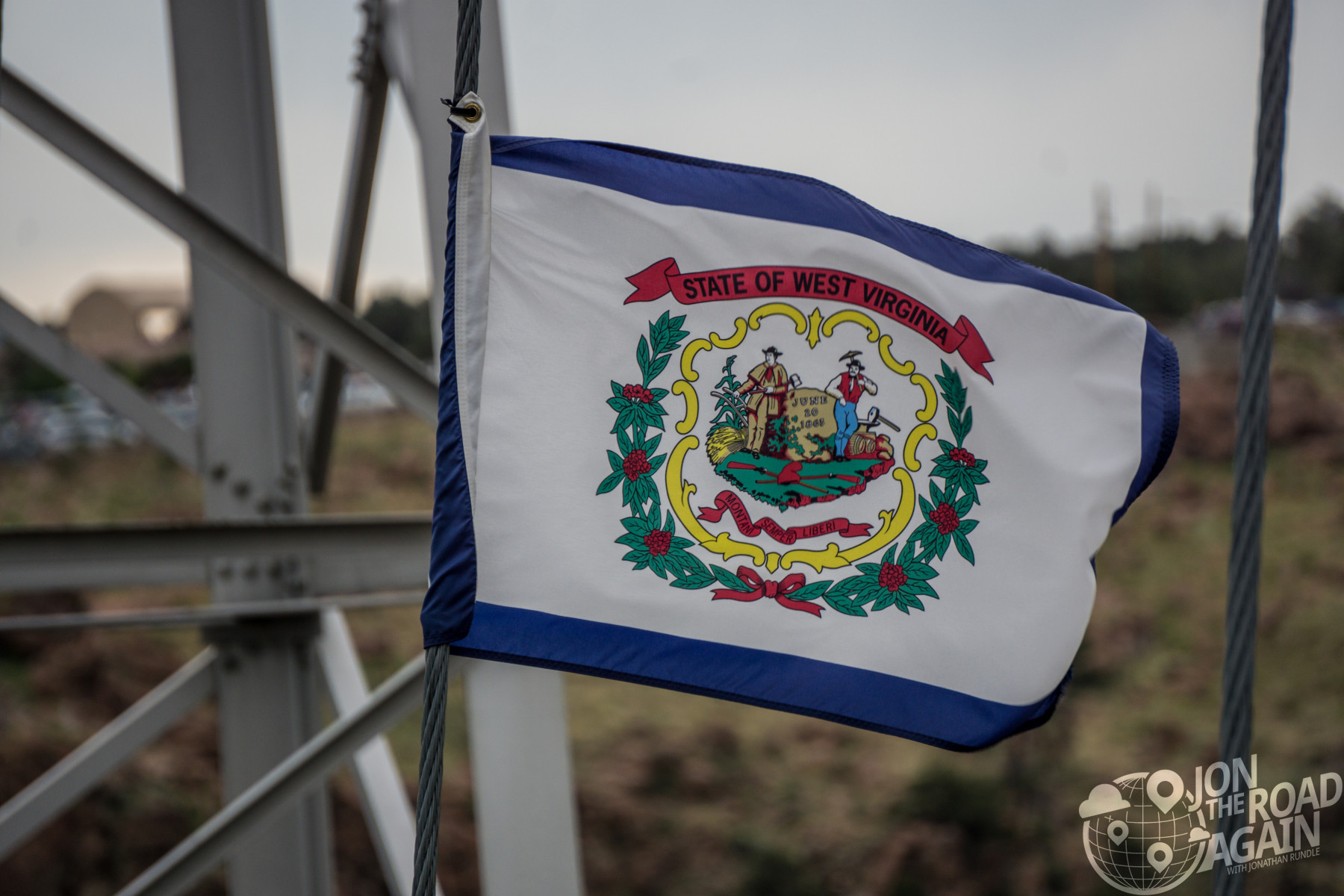 Royal Gorge Bridge State Flags