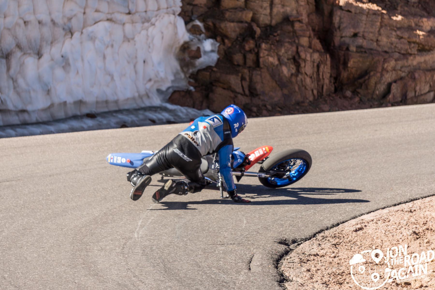 Pikes Peak Hill Climb Motorcycle Crash