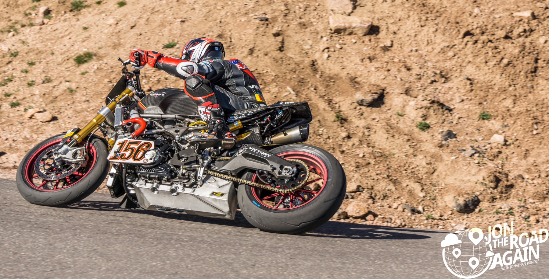 Pikes Peak Hill Climb Motorcycle