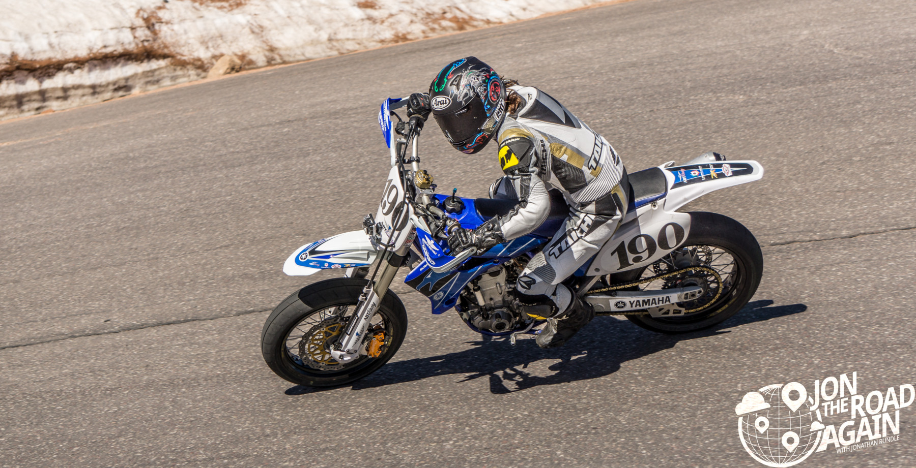 Pikes Peak Hill Climb Motorcycle