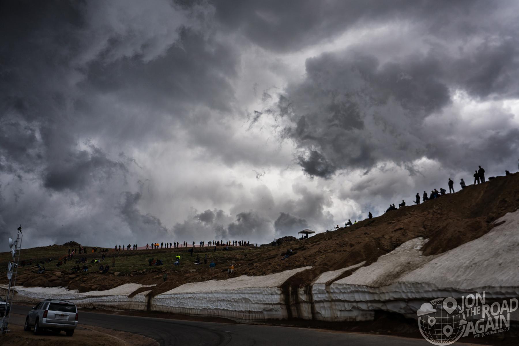 Pikes Peak Hill Climb Weather