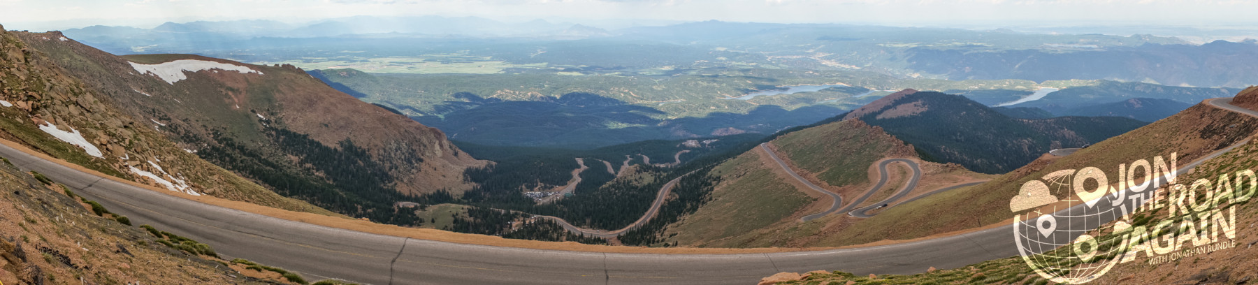 Pikes Peak Hill Climb Panorama