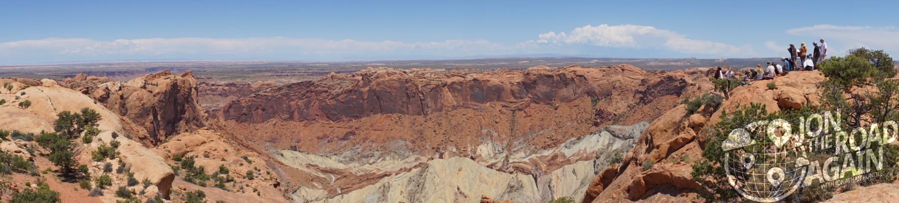 Upheaval Dome Panorama