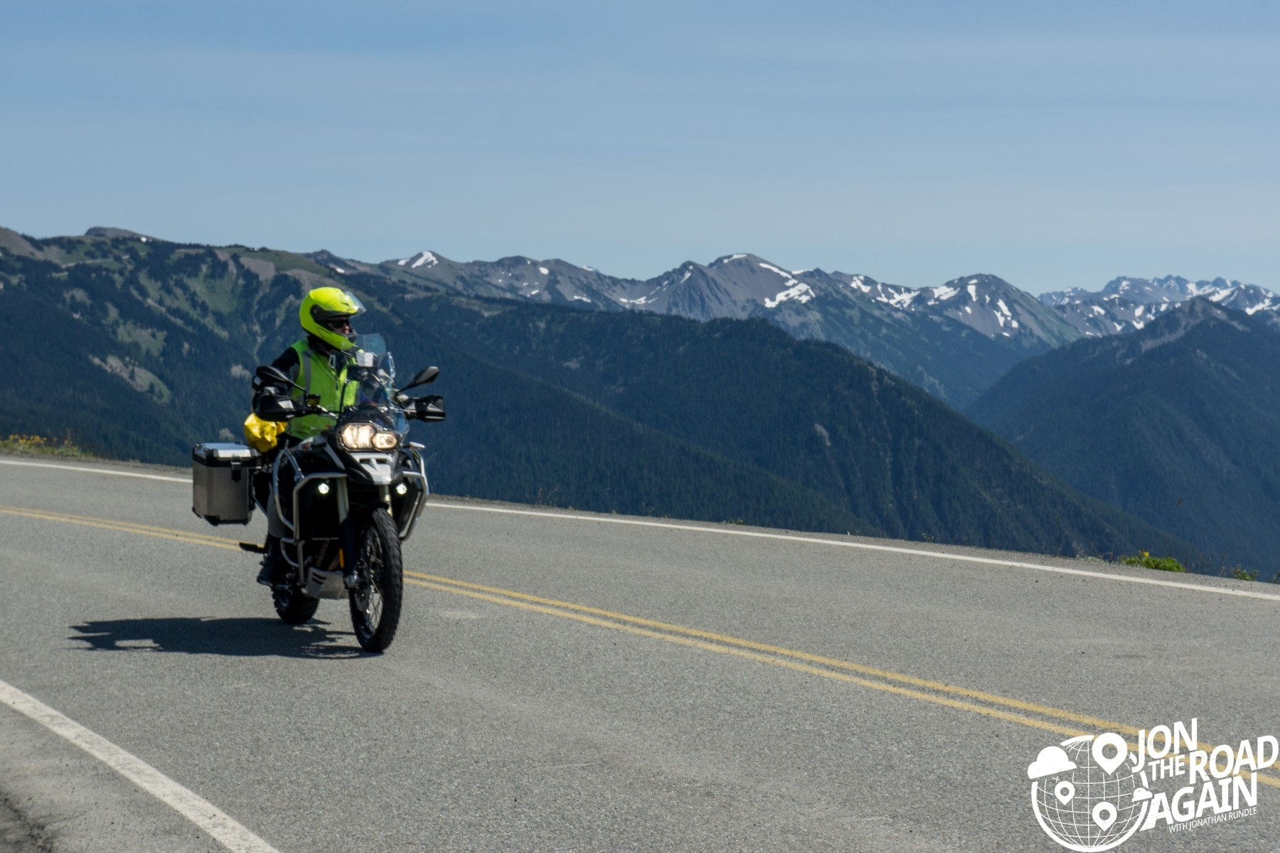 Matt with Hurricane Ridge