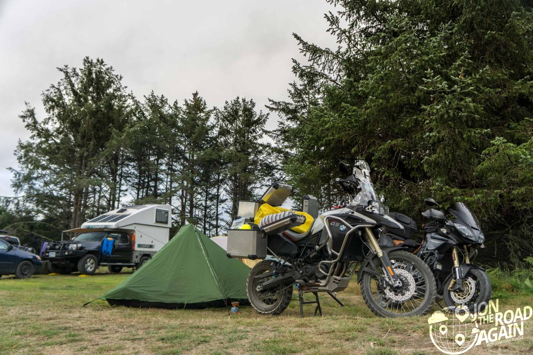Hobuck beach camping