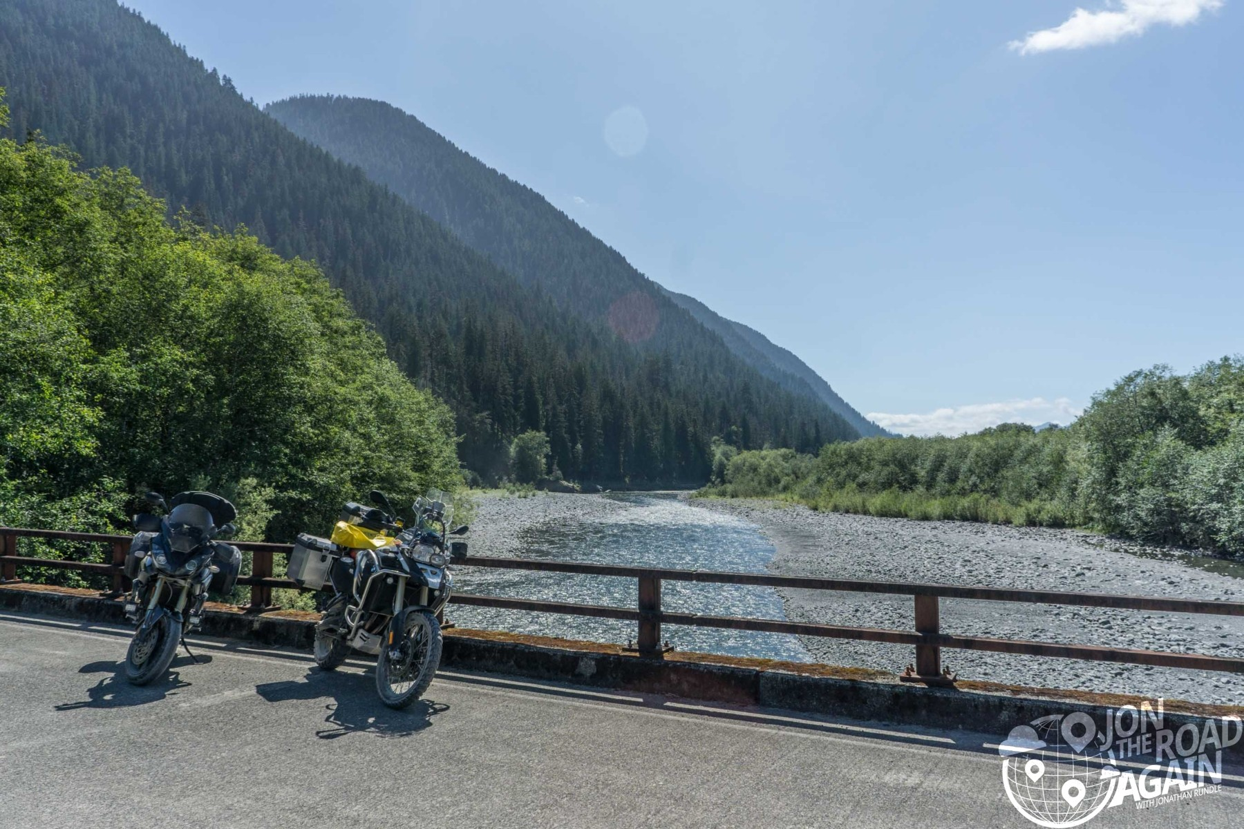 quinault river crossing