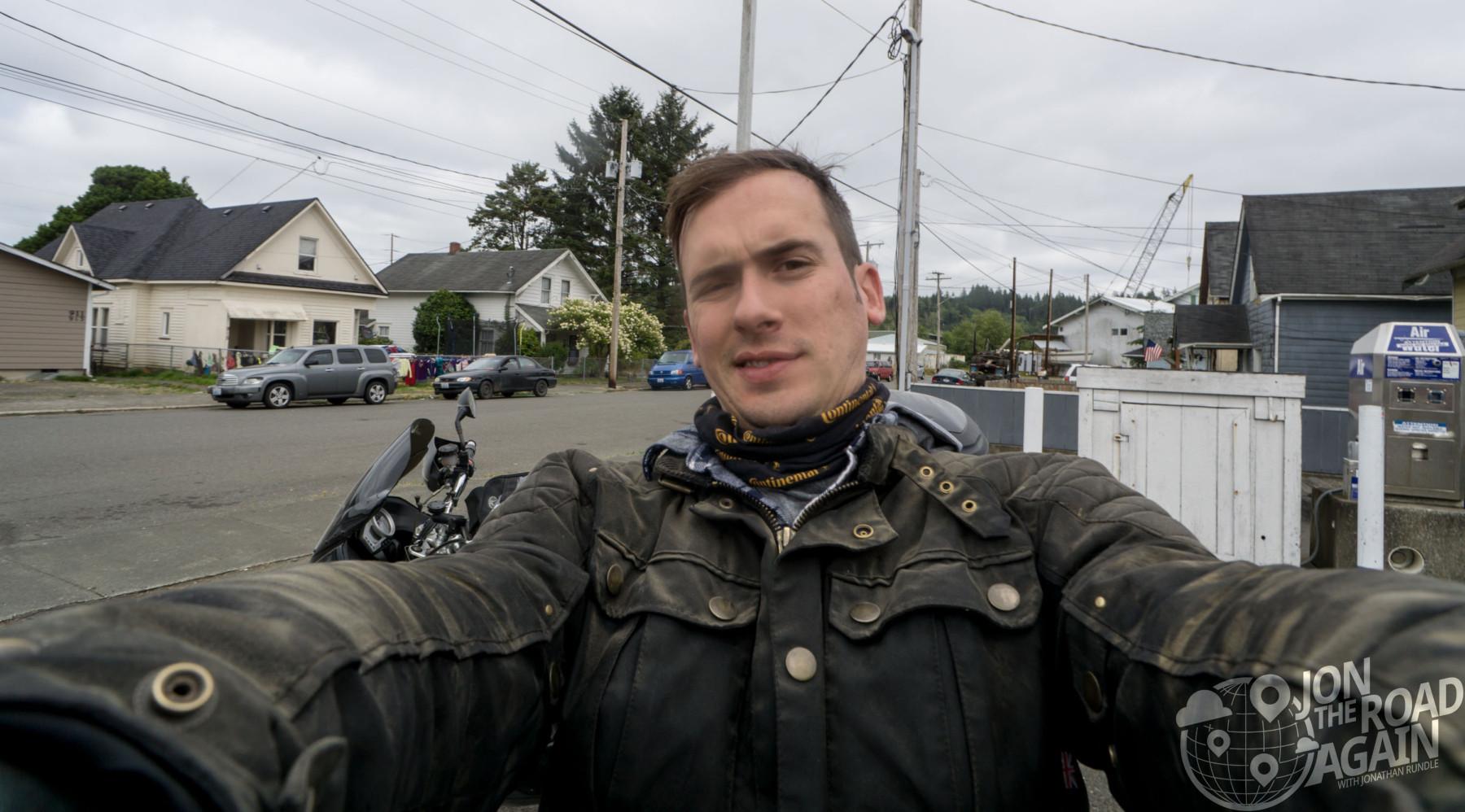 Dirty biker bloke