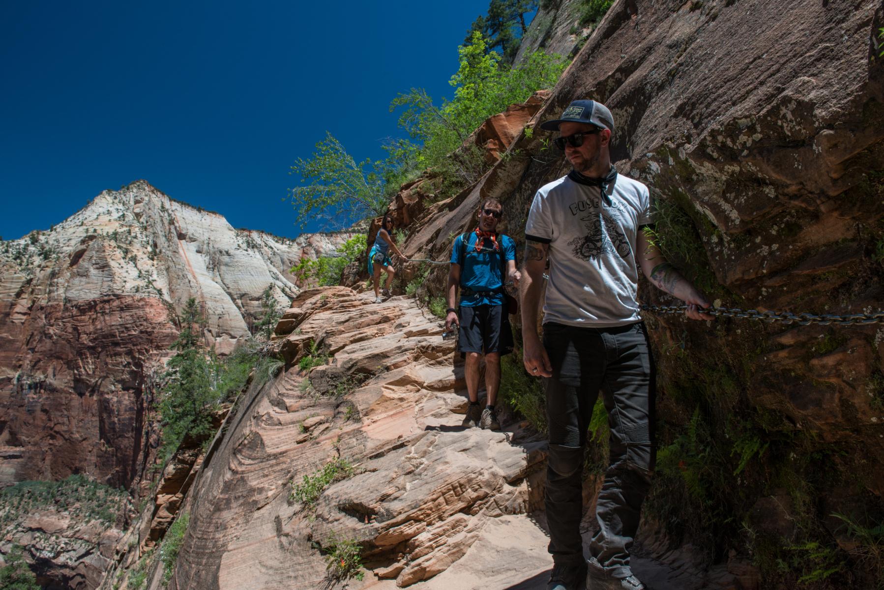Hiking Hidden Canyon in Zion
