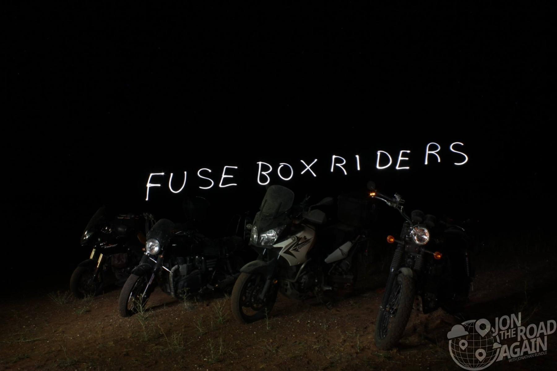 Fuse Box Riders Light Painting Utah