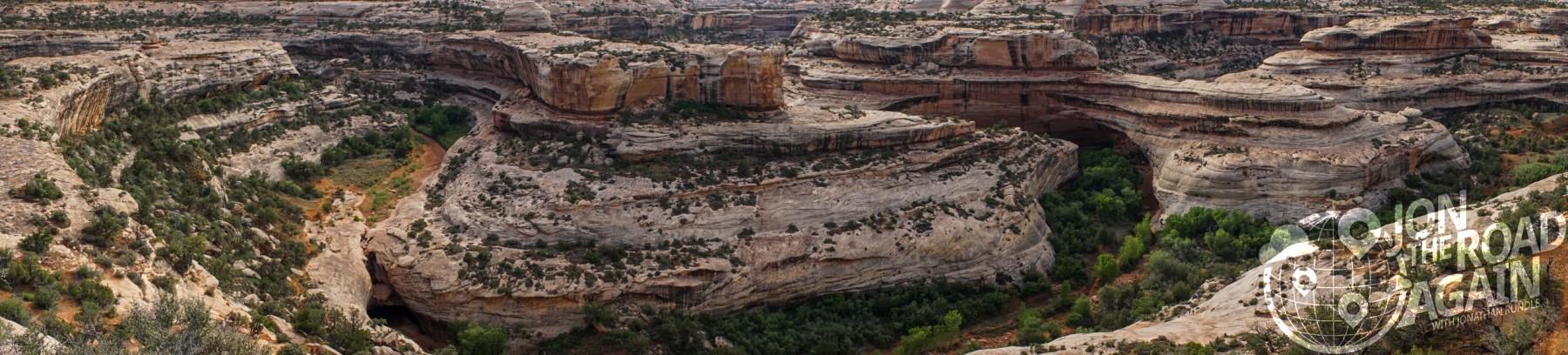 Natural Bridges National Monument Panorama