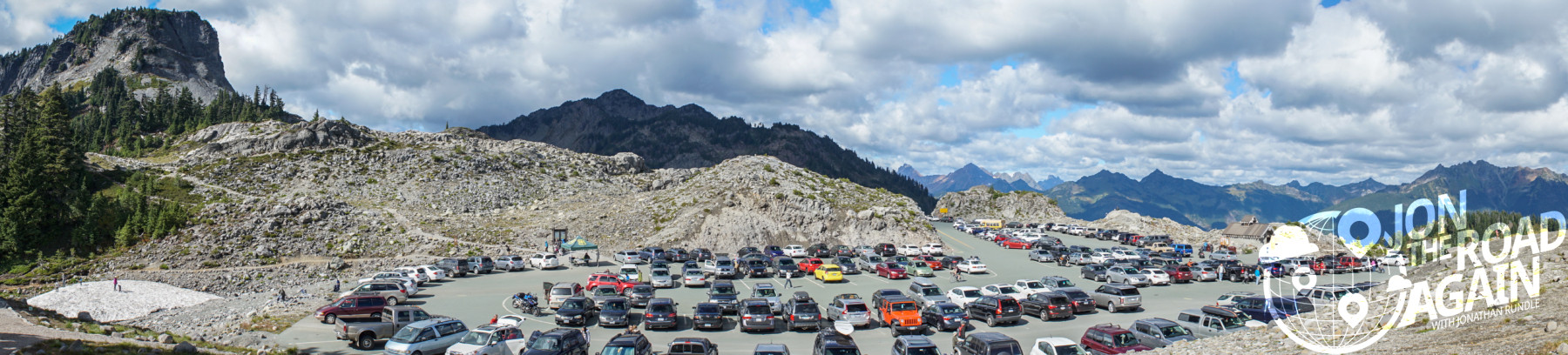 Artist Point Parking lot