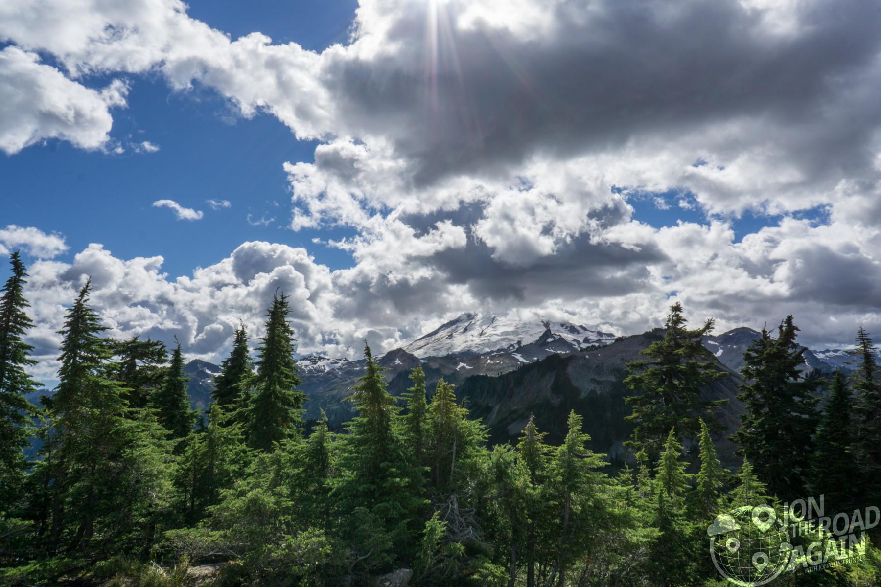 Mount Baker at Artist Point